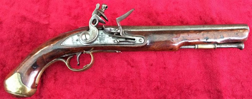 Flintlock Officer's Pistol