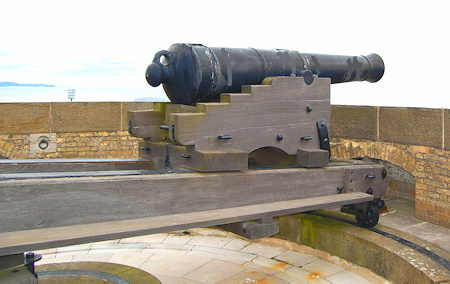 Cannon on Roof