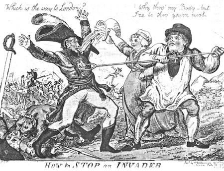 1803 Cartoon of John Bull