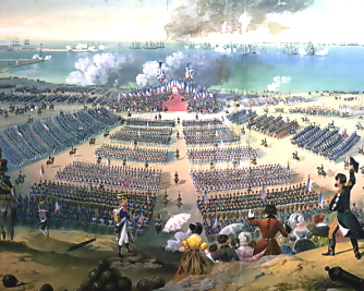 Inspection of troops at Boulogne, 15 August 1804