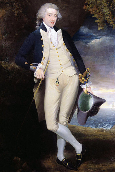 "Sir Home Popham, originator of the ""Sea Fencibles"" concept in 1793."