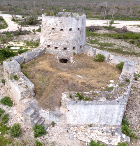 Barbuda Martello Tower