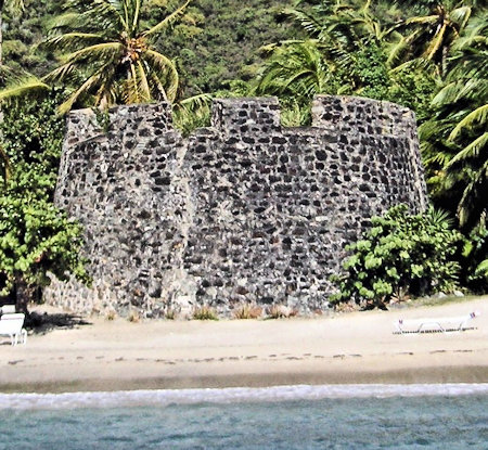 Fort Recovery Britsh Virgein Islands