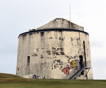 Martelllo Tower No.3 in Folkestone