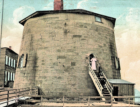 Quebec No.4 Martello Tower c1900